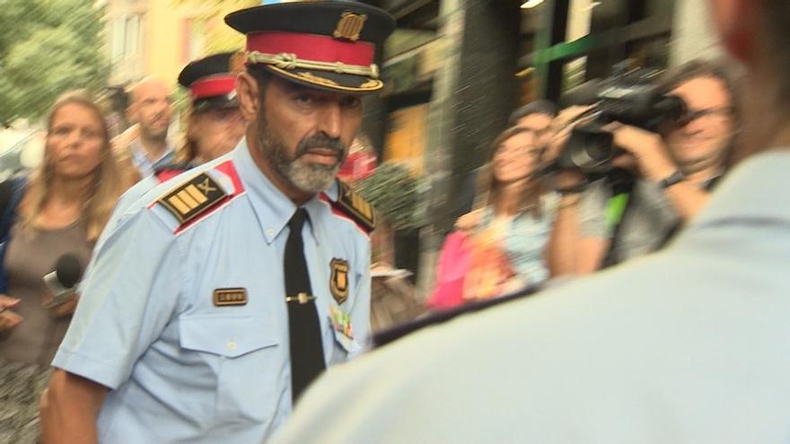 Interior relega al mayor Trapero a un puesto administrativo en las oficinas de los Mossos en Barcelona