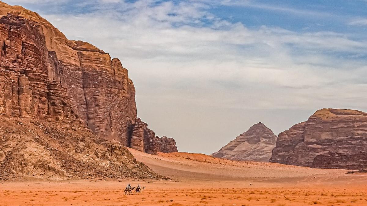 El desierto de Wadi Rum.