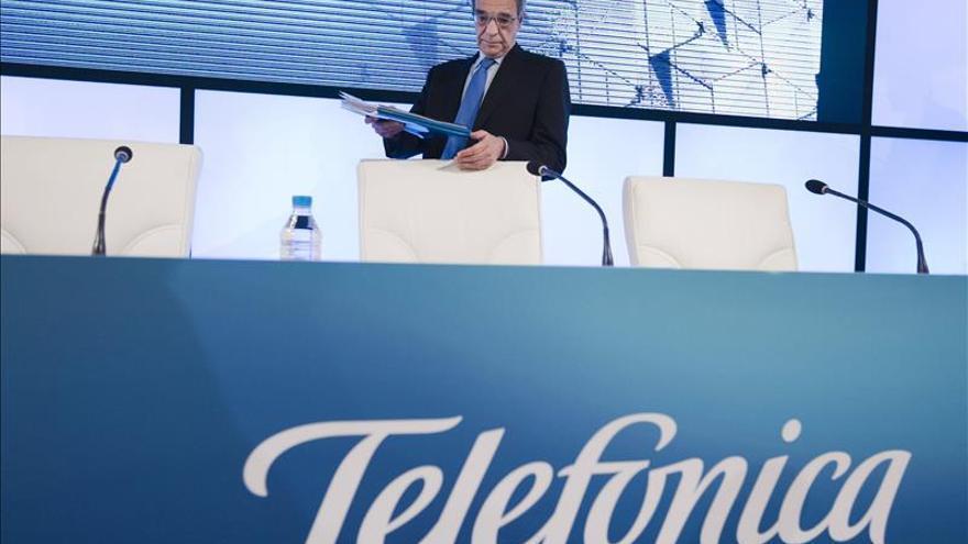 Telefónica gana el 34,7 por ciento menos lastrada por Venezuela y Alemania