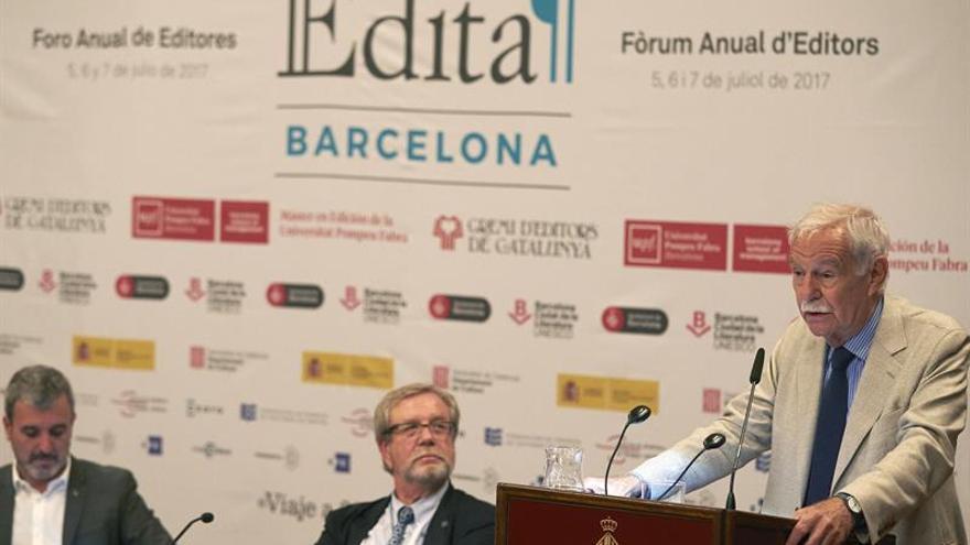 Eduardo Mendoza reivindica la figura del editor en la apertura del Foro Edita
