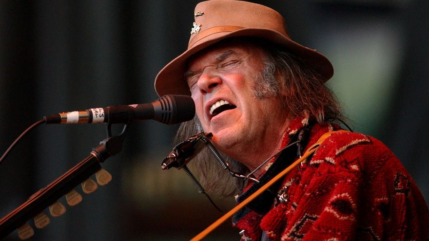 Neil Young presenta 'Peace Trail'
