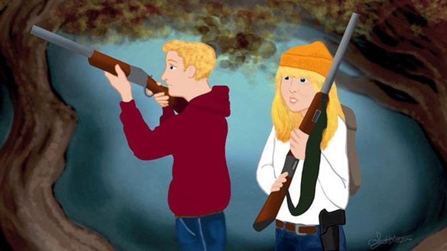 Hansel y Gretel tienen armas