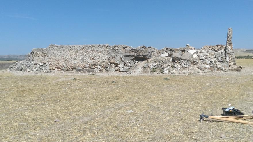 Restos de la ciudad romana de Caraca