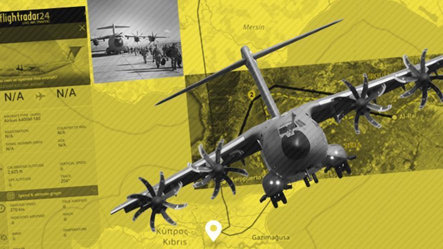 El A400M es un avión de transporte militar con capacidades tácticas.