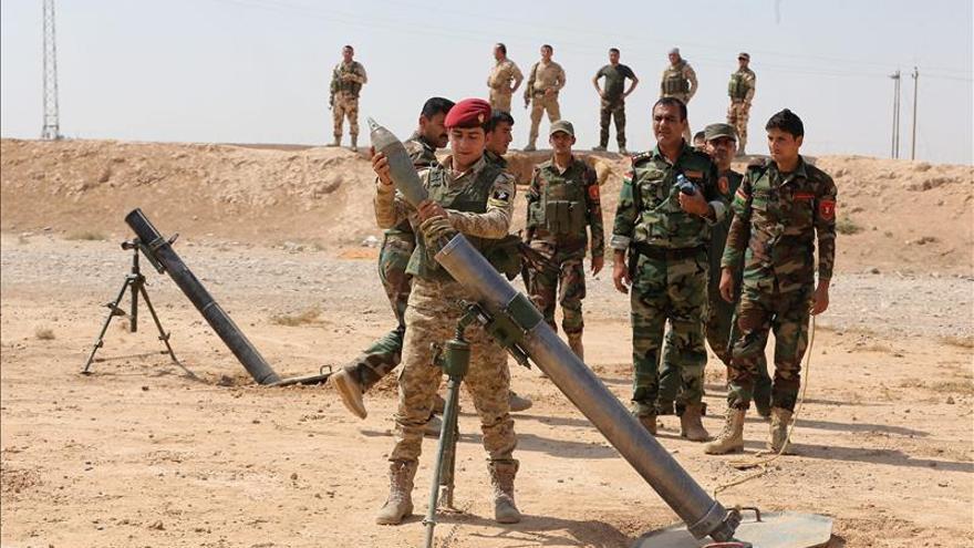 Muertos 22 yihadistas en enfrentamientos con tropas kurdas cerca de Mosul