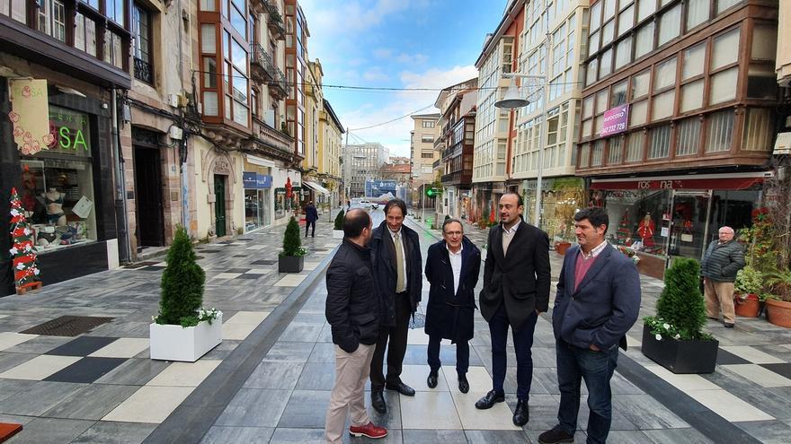 Inaugurada la calle Ancha tras una inversión de 465.000 euros y su reforma integral