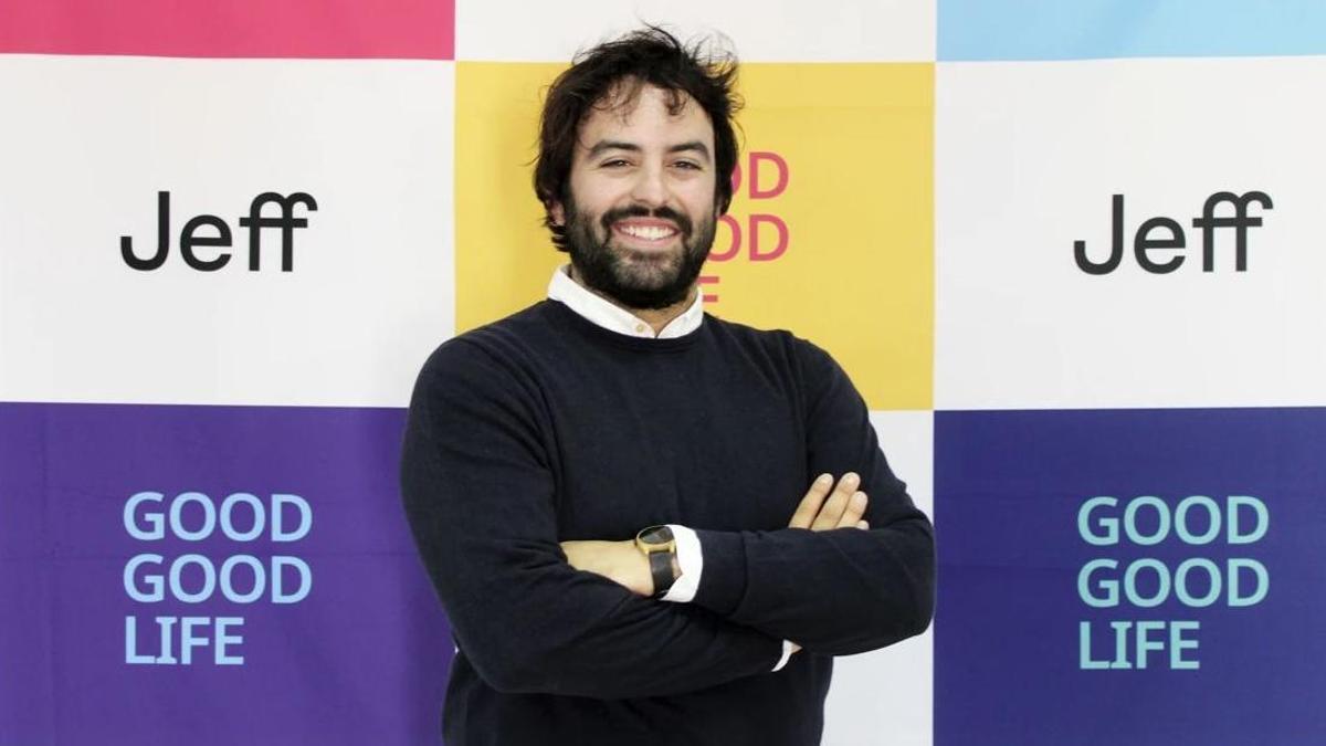 Eloi Gómez, fundador y CEO de Jeff