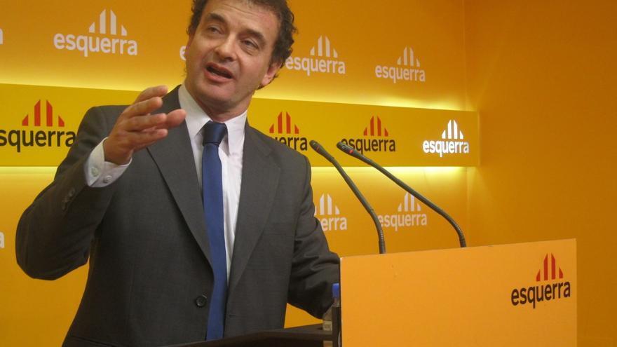 ERC invita al Monarca a renunciar a Cataluña si no le gusta por dónde camina