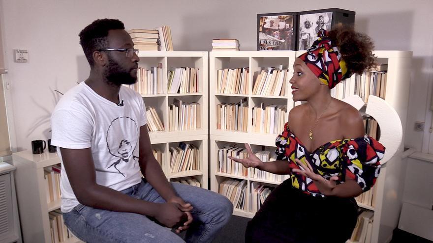Moha Gerehou entrevista a Lucía Mbomio en Racial