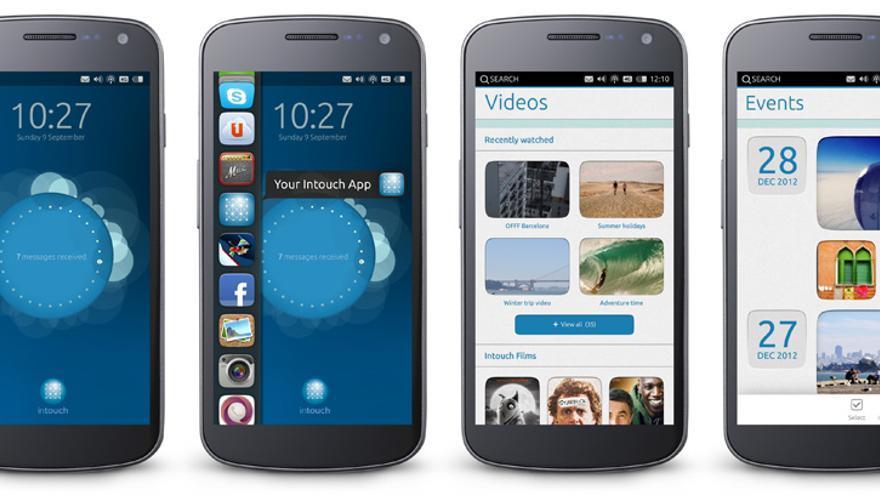 Prototipo de Ubuntu Phone (Foto: Canonical)
