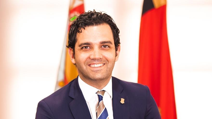 El alcalde de Paterna, Juan Antonio Sagredo.