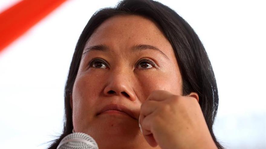 """Keiko Fujimori califica de """"guerra sucia"""" la denuncia sobre una investigación de la DEA"""