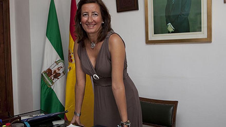 Trinidad Moreno, alcaldesa de Cardeña