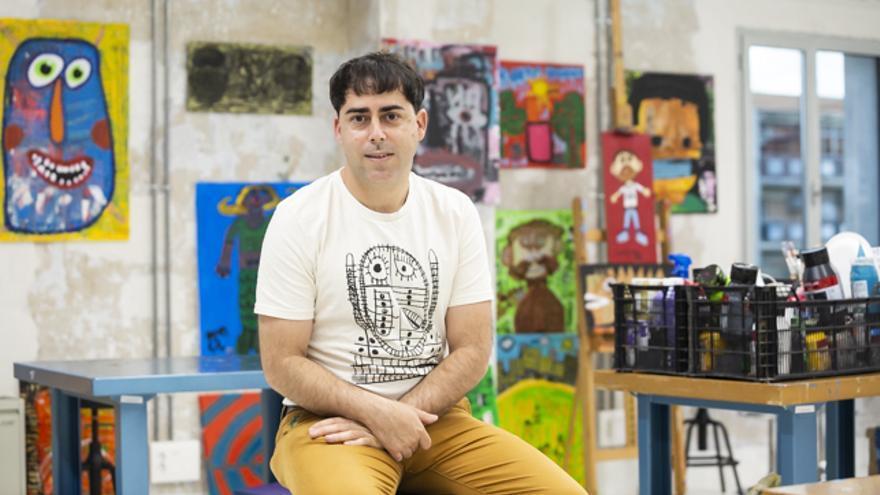 Javier Roche, del Colectivo Llámalo H.