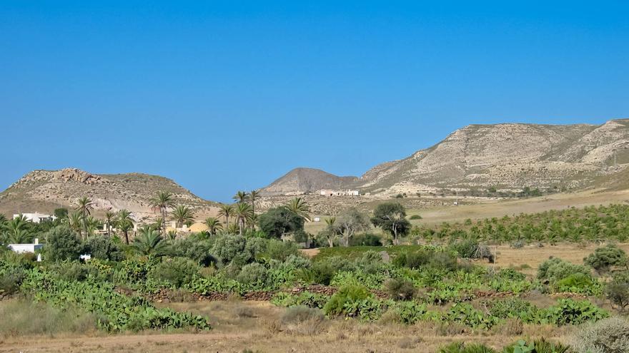 Vega de Rodalquilar, uno de los pueblos de Cabo de Gata.