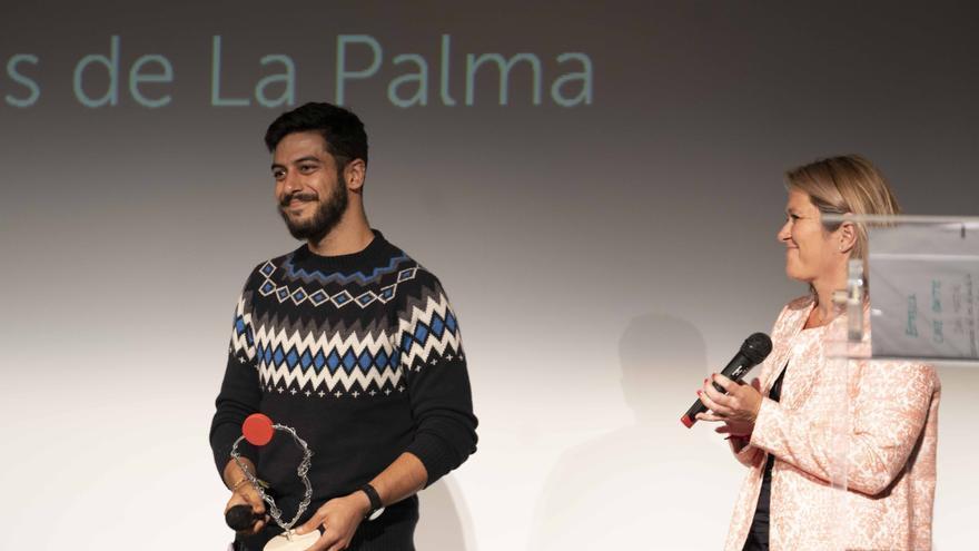 José Manuel Marrero con Alicia Vanoostende.
