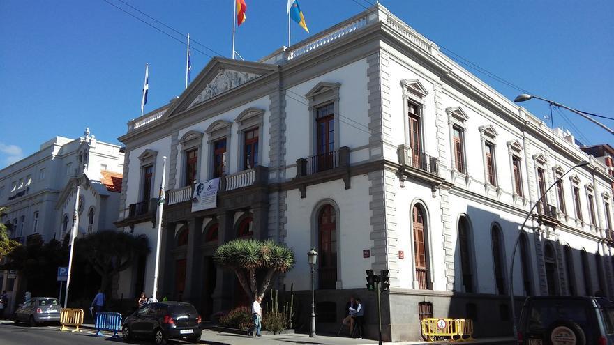 Casas consistoriales de Santa Cruz, en una imagen de archivo