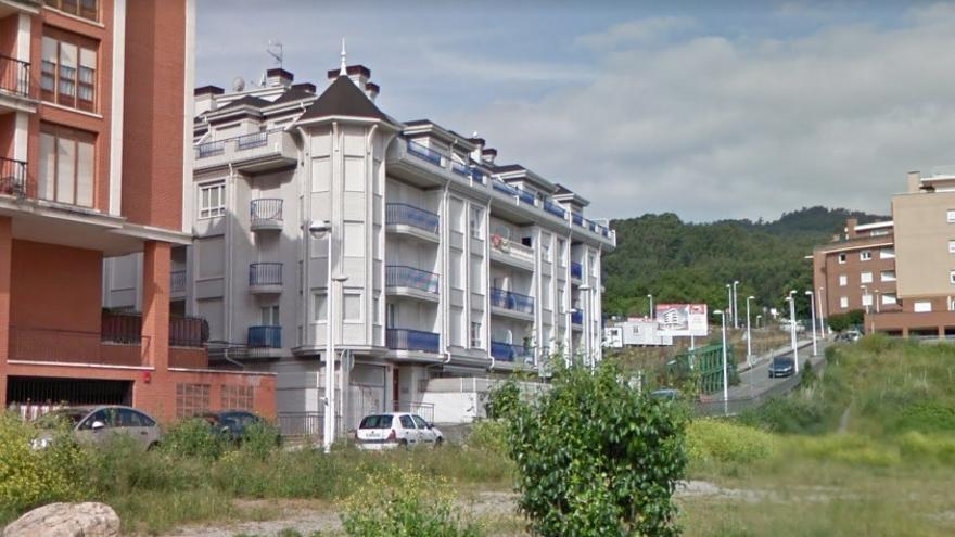 El edificio Proconor en Castro Urdiales.