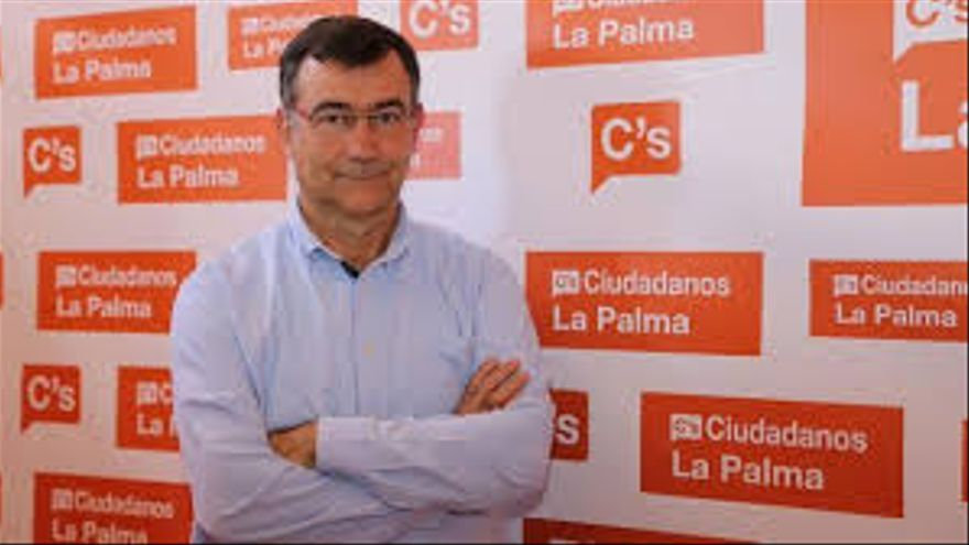 Juan Arturo San Gil es el coordinador insular de Ciudadanos.