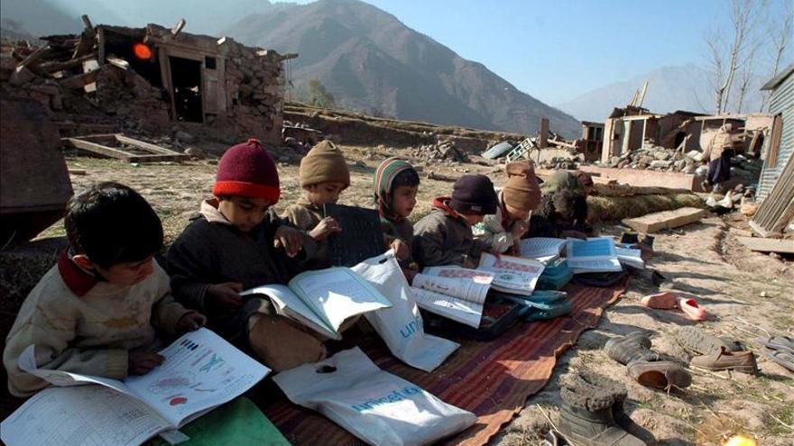 Según la Unesco, más de 28 millones de niños sin escuela viven en zonas en conflicto