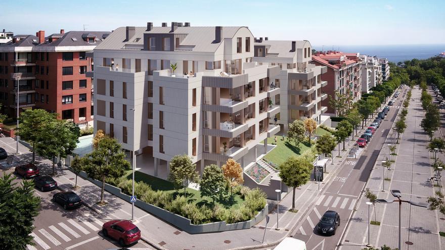 Nueva promoción de viviendas en Cueto