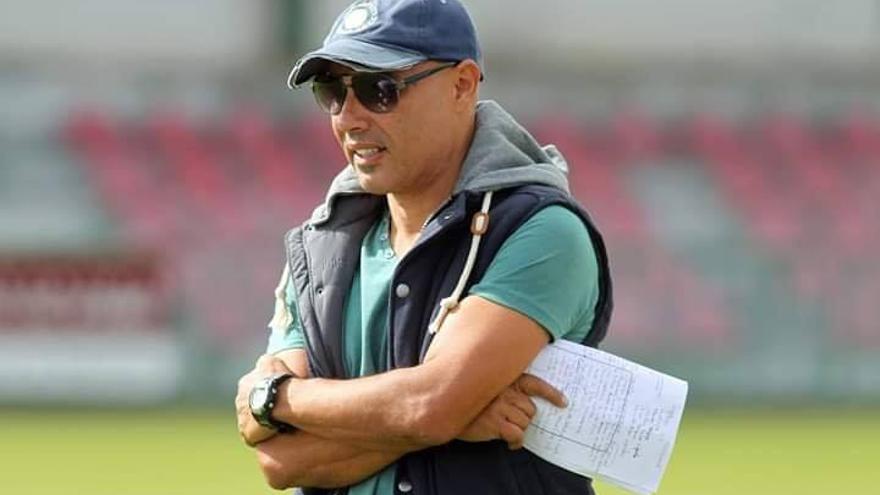Miguel Santana, entrenador del Unión Puerto.
