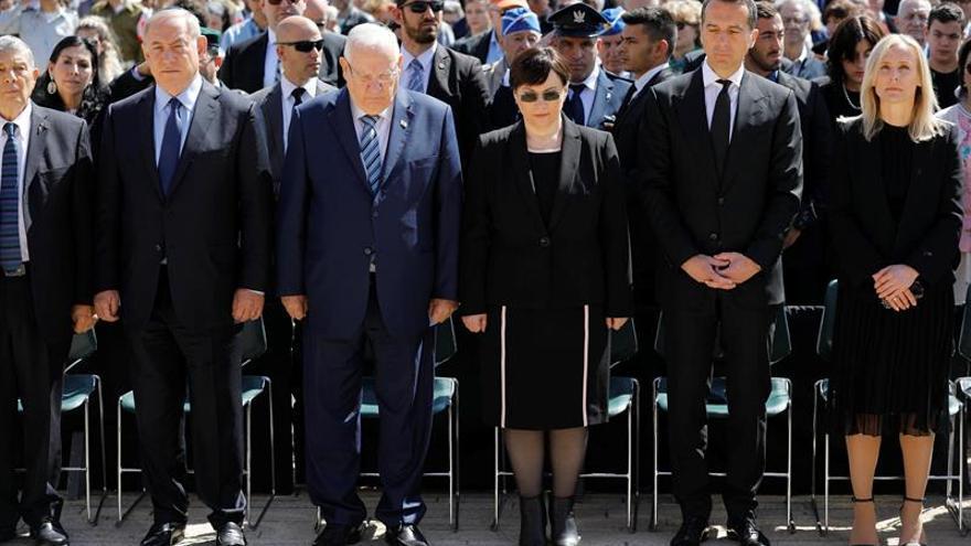 Israel se paraliza para recordar a los seis millones de judíos exterminados