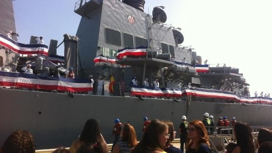 Hacienda concede a Rota una ayuda de poco más de un millón de euros por la servidumbre militar por la Base Naval