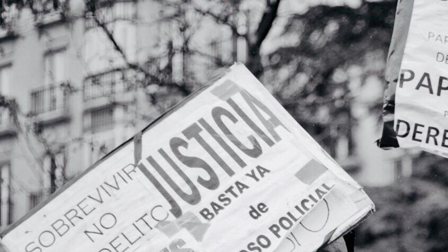 Mame Mbaye, el mantero fallecido de un infarto en Madrid tras una persecución policial. Foto: Byron/ Sindicato de Manteros y Latero