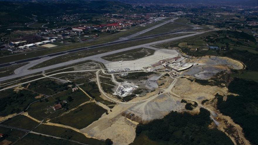 Depósito de lindane en las inmediaciones del aeropuerto de Loiu