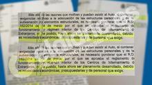 """El Ministerio del Interior ha reconocido en un documento que el reglamento que regula los CIE, aprobado en marzo de 2014, """"no ha podido hasta ahora ser plenamente desarrollado""""/ Captura del documento"""