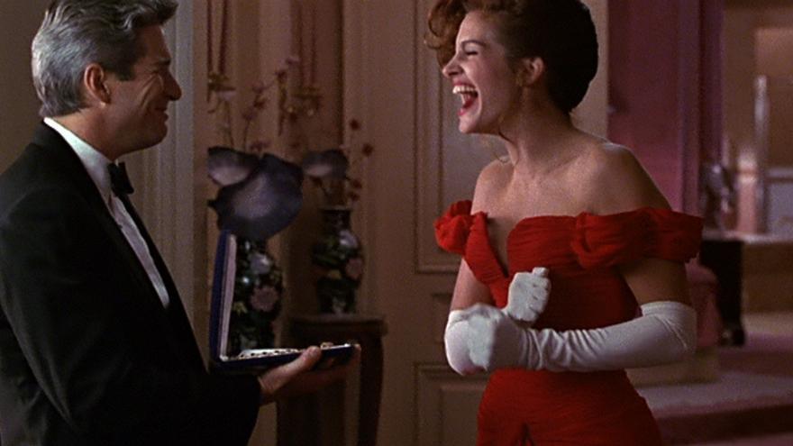 Escena de la película Pretty Woman