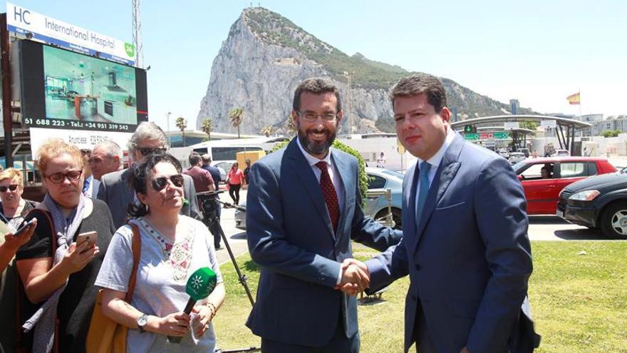 La Línea y Gibraltar apuestan por un futuro de convivencia pacífica