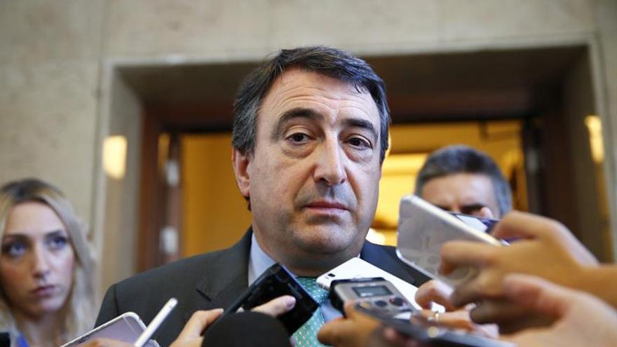 """PNV en el Congreso avisa de que una acción """"exacerbada"""" en Cataluña arriesgaría los PGE"""