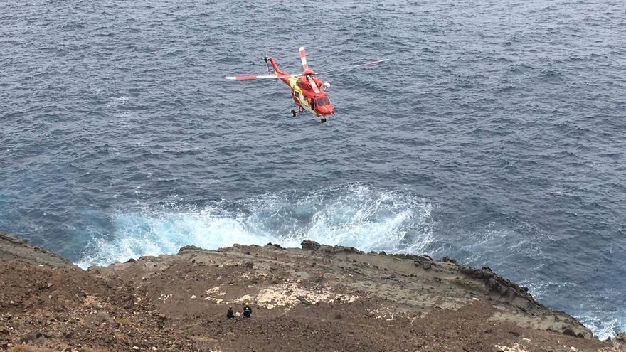 Imagen de archivo de un helicóptero del GES