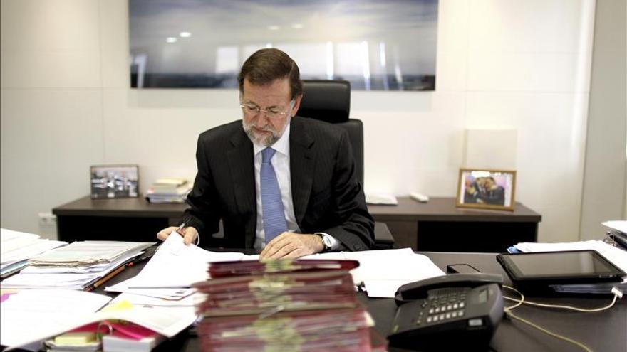 Mariano Rajoy, en su despacho.