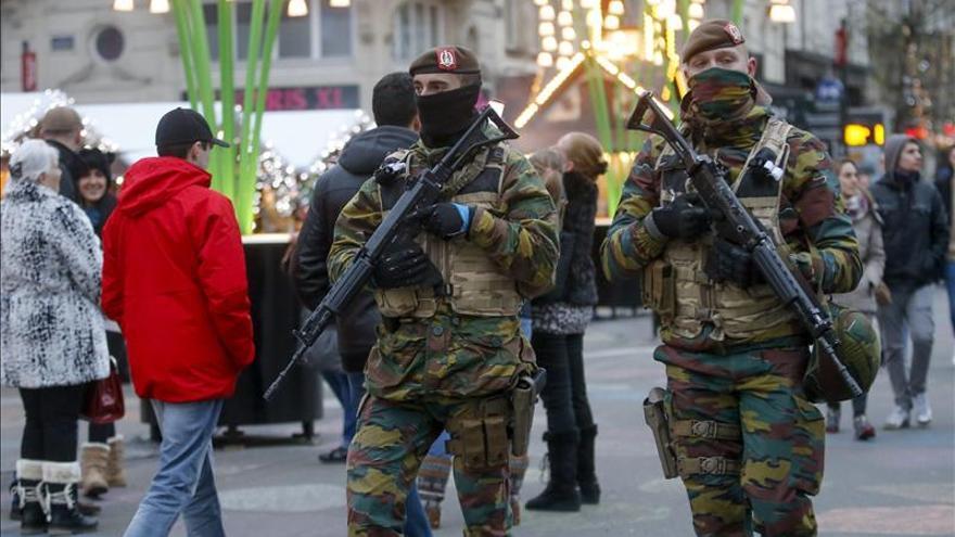 Bélgica decretó el nivel 4 de alerta terrorista tras interceptar unos mensajes