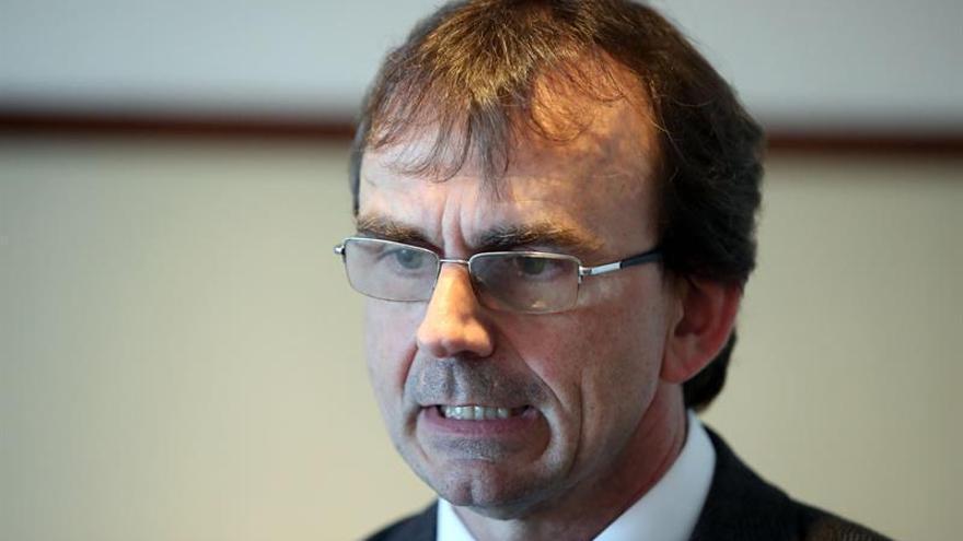 En la imagen, el presidente de la Federación Uruguaya de Ajedrez, Bernardo Roselli.