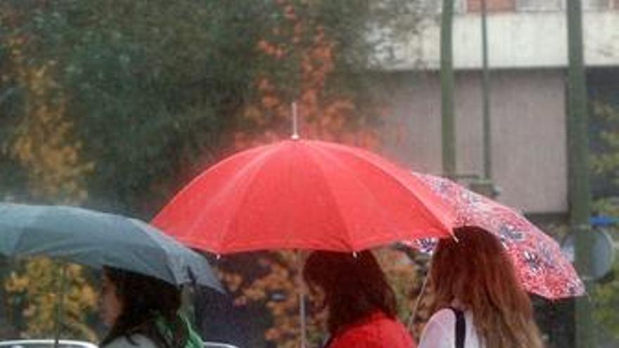 Las lluvias se mantendrán todo el fin de semana