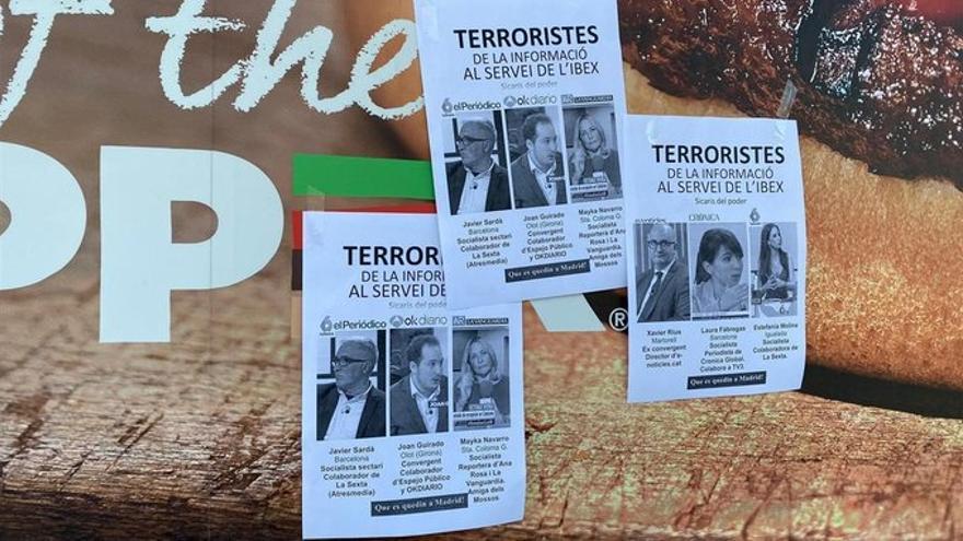 Carteles contra los periodistas