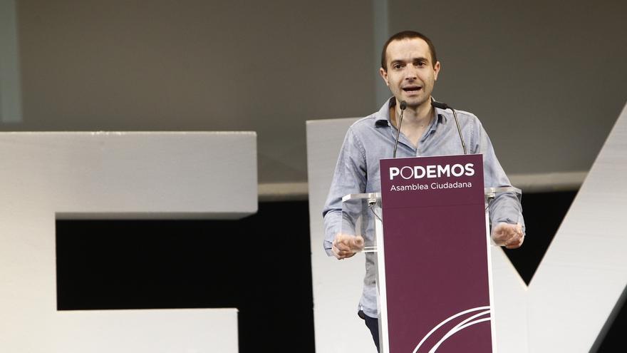 """El aspirante a liderar Podemos en Madrid anima a la """"gente valiosa"""" como Tania Sánchez a """"integrarse"""" en la organización"""