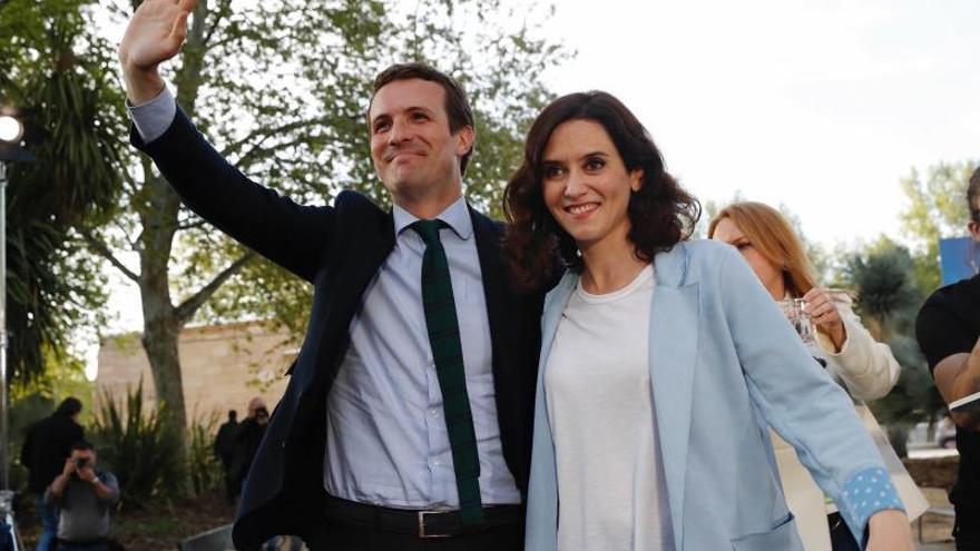 Díaz Ayuso: si Garrido se ve cómodo en Podemos puede intentar ser consejero