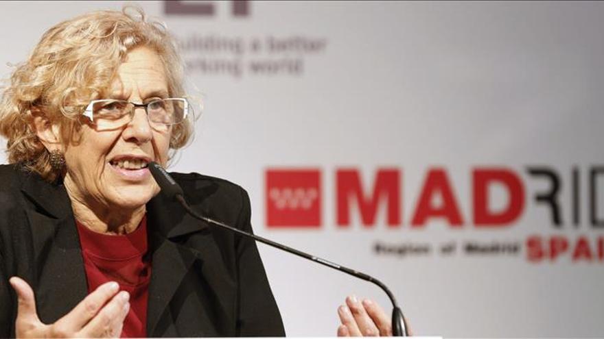 Carmena renueva votos para que en Madrid no se huya del sufrimiento del otro