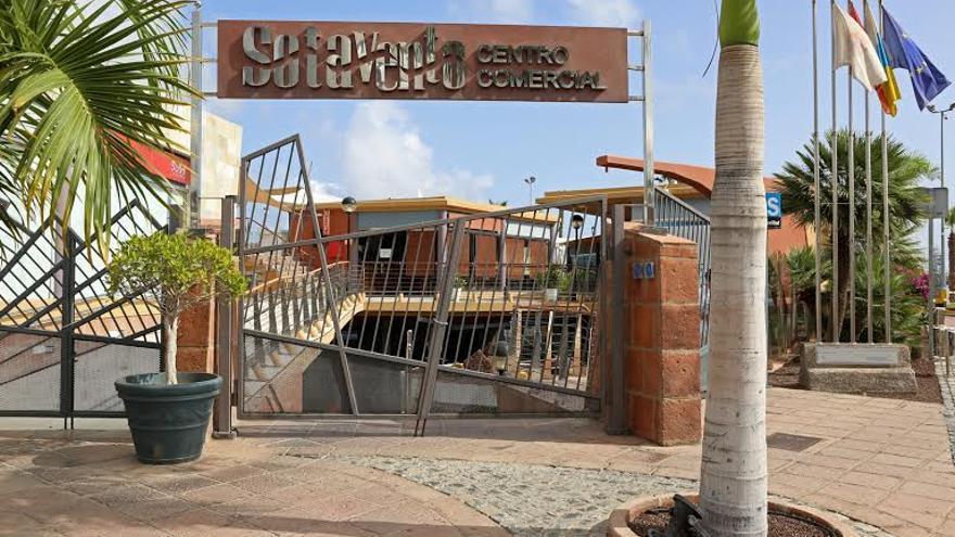 Centro Comercial Sotavento, en Las Palmas de Gran Canaria. (Fotografía: Alejandro Ramos).