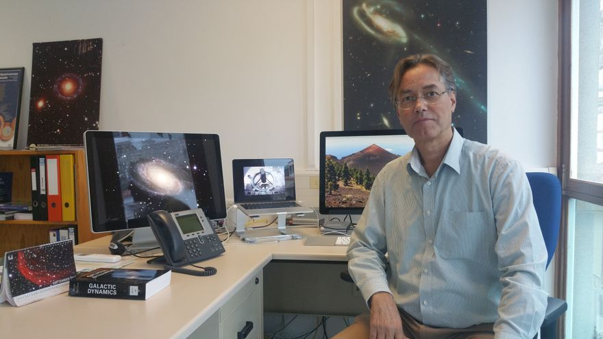 Marc Balcells es director del Grupo de Telescopios Isaac Newton (ING). Foto: LUZ RODRÍGUEZ.