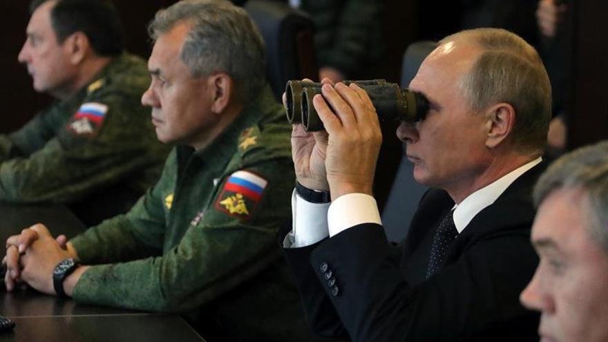 Putin supervisa maniobras conjuntas ruso-bielorrusas que inquietan a la OTAN