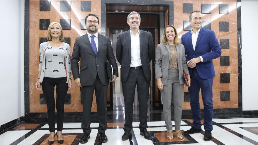 La última batalla de Clavijo : CC propone al PP la Presidencia del Gobierno de Canarias