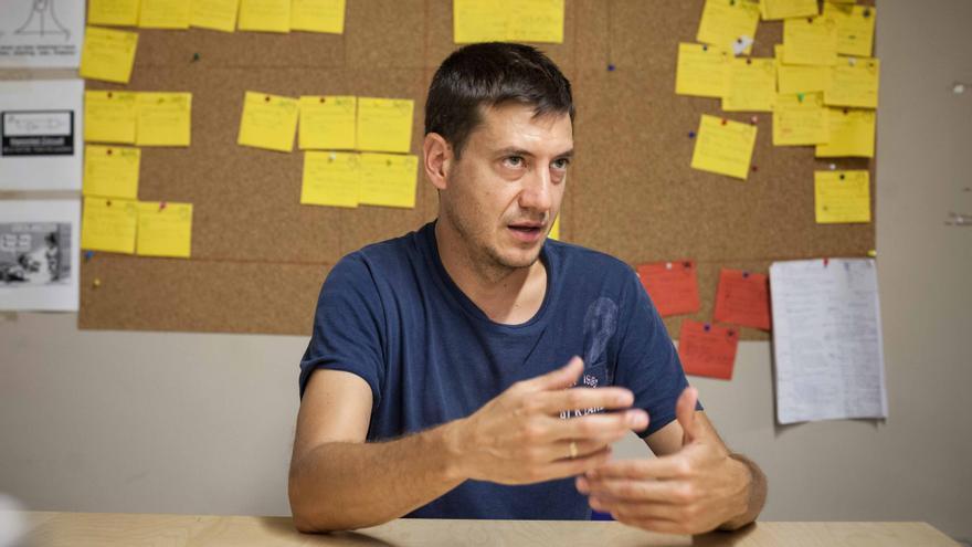 Javier Mínguez. Foto: Juan Manzanara