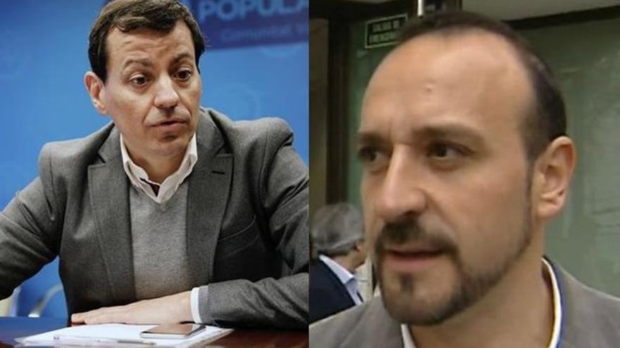 José Luis Bayo y Elio Cabanes
