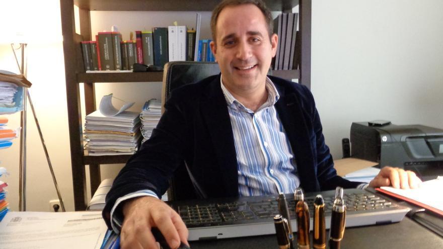 Jorge Alarte, en su despacho.